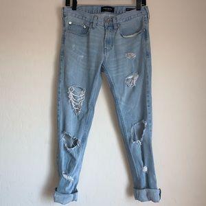 Pacsun boyfriend distressed jeans